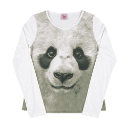 Blusa Manga Longa Magic Girls  Pandas 29417