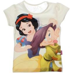 Blusa Princesas Disney Menina Estampa Sortida Renda 30679