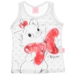 Blusa Regata Infantil Marie Estampa Laço Grande 29993