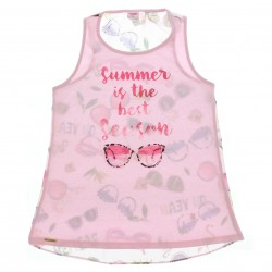 Blusa Regata Magic Girls Infantil Juvenil Summer Oculos 2922