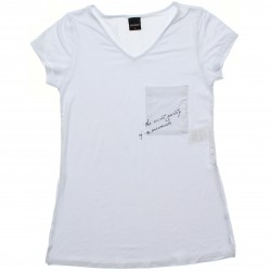 Blusa Rovitex Teen Viscolycra Decote V Bolso Secret 30773