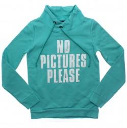 Blusão Rovitex Juvenil Menina Moletom No Pictures 31030