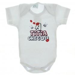 Body Curto Petutinha Bebê Menino Frases Sortidas Titia 29101
