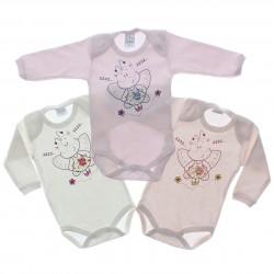 Body Kit Petutinha Bebê Menina c/3 Longo Borboleta 29396