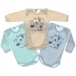 Body Kit Petutinha Bebê Menino c/3 Longo Dog Favorito 29399