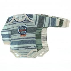 Body Kit Petutinha Bebê Menino c/3 Longo Urso 100% Beijos