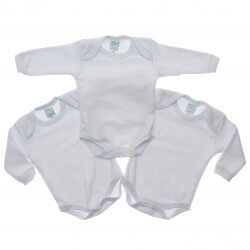 Body Kit Petutinha Bebê Unissex Longo Branco - 24416