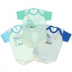 Body Kit Petutinha Menino c/3 Curto Resgate Auto Baby 29110