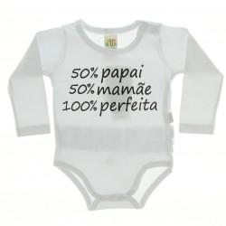 Body Longo Pulla Bulla Menina 100% perfeita - 28323