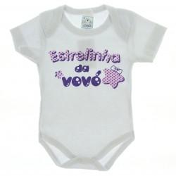 Body Petutinha Bebê Menina Frases Sortidas Vovó 29105