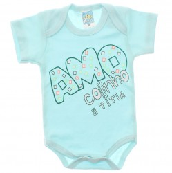 Body Petutinha Bebê Menino Frases Sortidas 29860