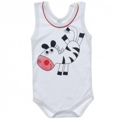 Body Petutinha Infantil Regata Menina Animais Strass 30542