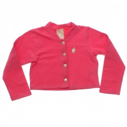 Bolero Colorittá Infantil Menina Pingente e Strass 4-14 31088