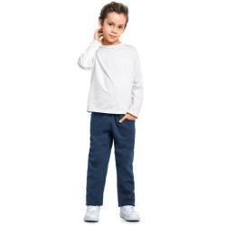 Calça de Moletom Infantil Elian Menino Lisa Bolso 1-3 31024