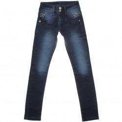 Calça Jeans Akiyoshi Infantil Menina Strass Bolso 30462