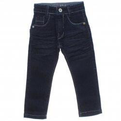 Calça Jeans Akiyoshi Infantil Menino Bigodinho e Bolsos 31384