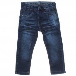 Calça Jeans Akiyoshi Infantil Menino Bolso Presponto Bigode 31386