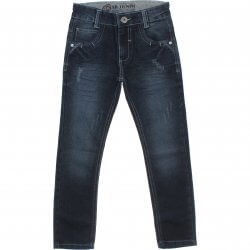 Calça Jeans Akiyoshi Infantil Menino Presponto e Puido 31394