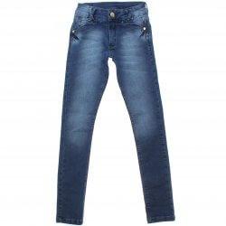 Calça Jeans Akiyoshi Juvenil Menina Bolso Bordado 31388