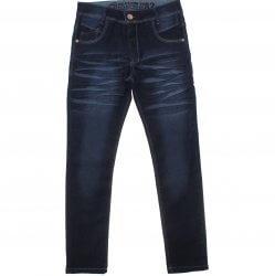 Calça Jeans Akiyoshi Juvenil Menino Bigodinho e Presponto 31395