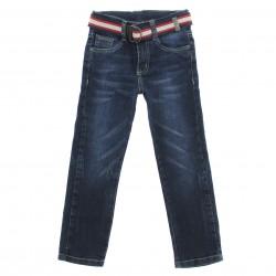 Calça Jeans Downhill Infantil Menino Cinto Bolso Presp 29172