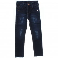 Calça Jeans Frommer Infantil Menino Puidos e Rebit 31378
