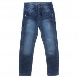 Calça Jeans Frommer Infantil Menino Recorte Puidos 31377