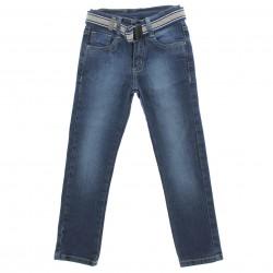 Cal�a Jeans Playkids Infantil Menino Cinto Skinny 29176
