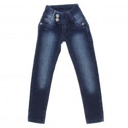 Calça Jeans Sonho de Amor Infantil Menina Skinny Laço 29135