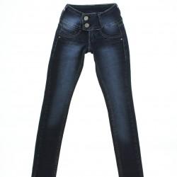 Calça Jeans Sonho de Amor Menina Botão Duplo 28549