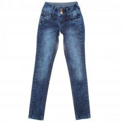 Calça Jeans Sonho de Amor Menina Botão Duplo Bolso Relevo 30508