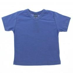 Camiseta Alakazoo Infantil Menino Lisa Decote V 28679