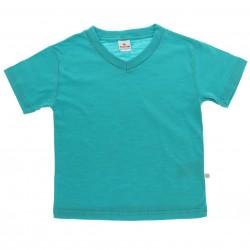 Camiseta Brandili Infantil Menino Decote V Lisa Flamê 27134
