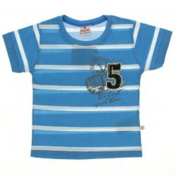 Camiseta Brandili Infantil Menino Listrada Bordado 5