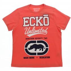 Camiseta Ecko Infantil Juvenil  Estampa Nineteen Logo 28895