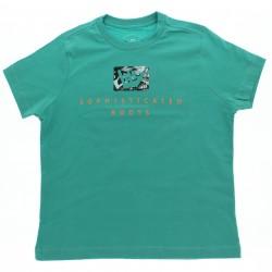Camiseta Hang Loose Juvenil Menino Costas Estampada 28889