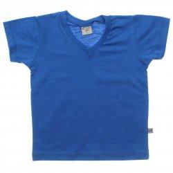 Camiseta Have Fun Infantil Decote V Flamê Lisa 4-14 31748