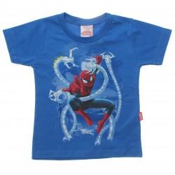 Camiseta Homem Aranha Infantil Com Octopus Metalizado 30683
