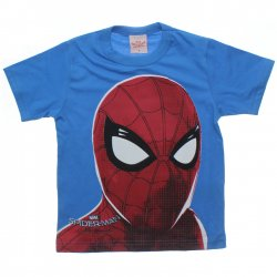Camiseta Homem Aranha Infantil Estampa Rosto 31453
