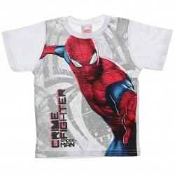 Camiseta Homem Aranha Infantil Menino Crime Fighter 30685