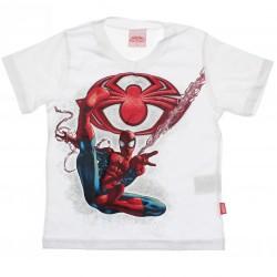 Camiseta Homem Aranha Infantil Menino Estampa Brilha 30004