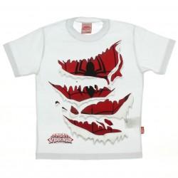 Camiseta Homem Aranha Infantil Menino Rasgo Uniforme 27499
