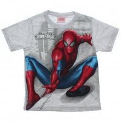 Camiseta Homem Aranha Infantil Olhos Metalizados 31451