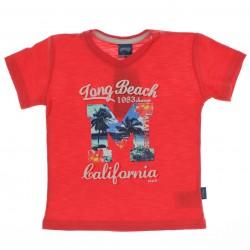 Camiseta Infantil Alakazoo Menino Long Beach M Calif 27541