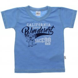 Camiseta Infantil Elian California Decote V 31582