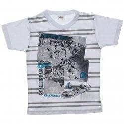 Camiseta Infantil Elian Free Speed Decote V 31587