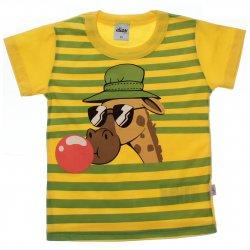 Camiseta Infantil Elian Listra Girafa Chiclete 31585