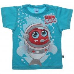 Camiseta Infantil Livy Menino Peixe Sea 31776