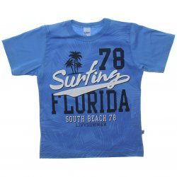 Camiseta Infantil Livy Menino Surfing Florida 31815