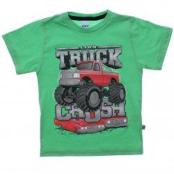 Camiseta Infantil Livy Menino Truck Crush 31814